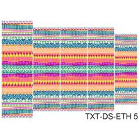 Слайдер-дизайн Nail Dream - Текстура этническая TXT-DS-ETH5