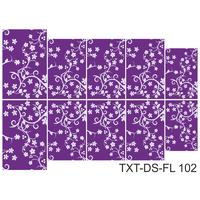 Слайдер-дизайн Nail Dream - Текстура - Цветы TXT-DS-FL102