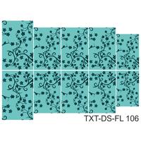 Слайдер-дизайн Nail Dream - Текстура - Цветы TXT-DS-FL106