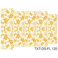 Слайдер-дизайн Nail Dream - Текстура - Цветы TXT-DS-FL120