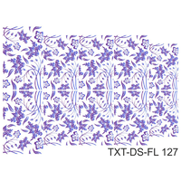 Слайдер-дизайн Nail Dream - Текстура - Цветы TXT-DS-FL127