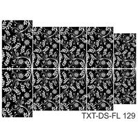 Слайдер-дизайн Nail Dream - Текстура - Цветы TXT-DS-FL129