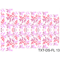 Слайдер-дизайн Nail Dream - Текстура - Цветы TXT-DS-FL13