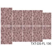 Слайдер-дизайн Nail Dream - Текстура - Цветы TXT-DS-FL136
