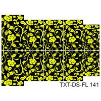 Слайдер-дизайн Nail Dream - Текстура - Цветы TXT-DS-FL141