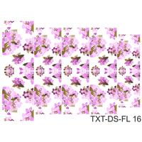 Слайдер-дизайн Nail Dream - Текстура - Цветы TXT-DS-FL16