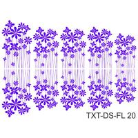 Слайдер-дизайн Nail Dream - Текстура - Цветы TXT-DS-FL20