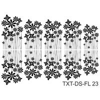 Слайдер-дизайн Nail Dream - Текстура - Цветы TXT-DS-FL23