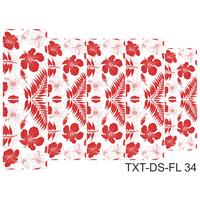 Слайдер-дизайн Nail Dream - Текстура - Цветы TXT-DS-FL34