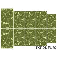 Слайдер-дизайн Nail Dream - Текстура - Цветы TXT-DS-FL39