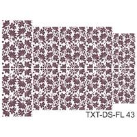 Слайдер-дизайн Nail Dream - Текстура - Цветы TXT-DS-FL43