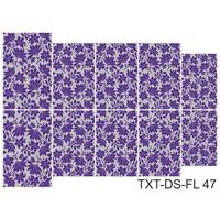 Слайдер-дизайн Nail Dream - Текстура - Цветы TXT-DS-FL47