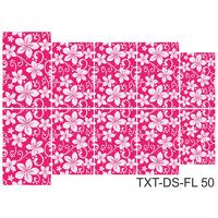 Слайдер-дизайн Nail Dream - Текстура - Цветы TXT-DS-FL50