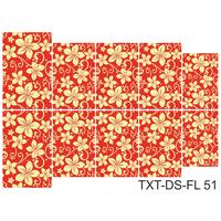 Слайдер-дизайн Nail Dream - Текстура - Цветы TXT-DS-FL51