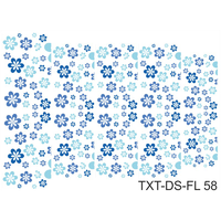 Слайдер-дизайн Nail Dream - Текстура - Цветы TXT-DS-FL58