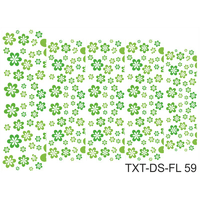 Слайдер-дизайн Nail Dream - Текстура - Цветы TXT-DS-FL59