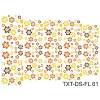 Слайдер-дизайн Nail Dream - Текстура - Цветы TXT-DS-FL61