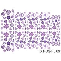 Слайдер-дизайн Nail Dream - Текстура - Цветы TXT-DS-FL69