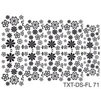 Слайдер-дизайн Nail Dream - Текстура - Цветы TXT-DS-FL71