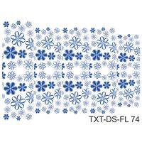Слайдер-дизайн Nail Dream - Текстура - Цветы TXT-DS-FL74