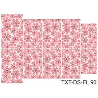 Слайдер-дизайн Nail Dream - Текстура - Цветы TXT-DS-FL90
