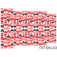 Слайдер-дизайн Nail Dream - Текстура - Любовь TXT-DS-LV2