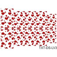 Слайдер-дизайн Nail Dream - Текстура - Любовь TXT-DS-LV3