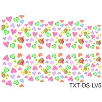 Слайдер-дизайн Nail Dream - Текстура - Любовь TXT-DS-LV5