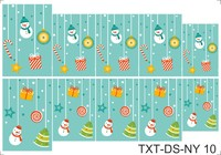 Слайдер-дизайн Nail Dream - Текстуры - Новый Год TXT-DS-NY10