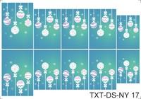 Слайдер-дизайн Nail Dream - Текстуры - Новый Год TXT-DS-NY17