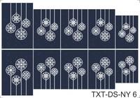 Слайдер-дизайн Nail Dream - Текстуры - Новый Год TXT-DS-NY6