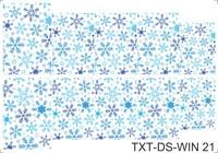 Слайдер-дизайн Nail Dream - Текстура - Зима TXT-DS-WIN21
